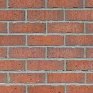 Klinkerriemchen Backsteinturm roter Klinker