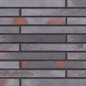 Argon Wand Klinker Riemchen im Langformat