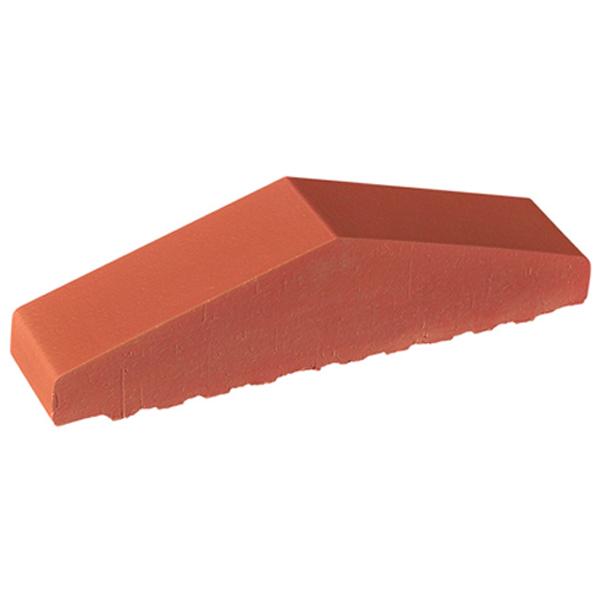 Mauerabdeckung rot
