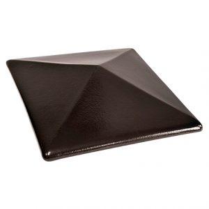 Pfostenkappe schwarz Onyx Black