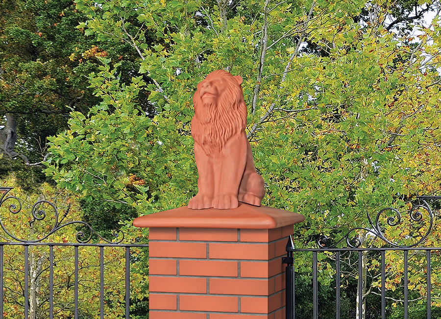 Mauerkrone rot Royal Lion