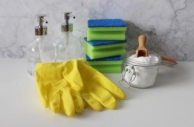Reinigung von Klinkerriemchen