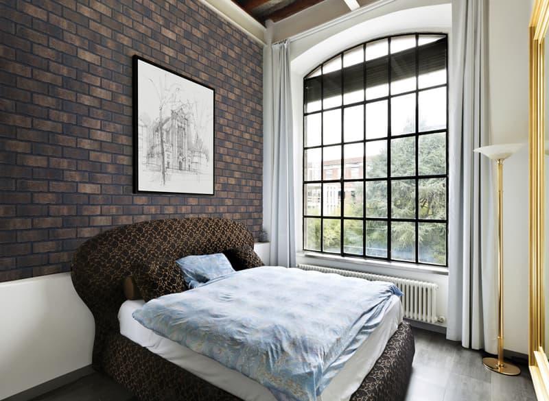 Innenraum mit handform riemchen dunkel braun Klosterkeller
