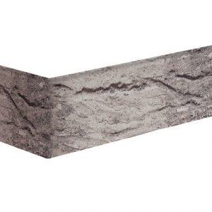 Gletscherhöhle Winkelriemchen grau handgeformt