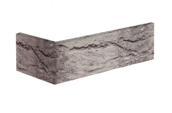 Winkelriemchen grau handgeformt Gletscherhöhle