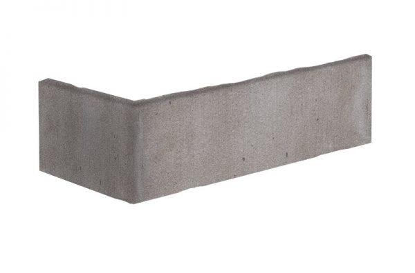 Winkelriemchen grau getönt Perlensatin