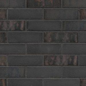 Riemchen Verblender Fassade Rostiger Stein