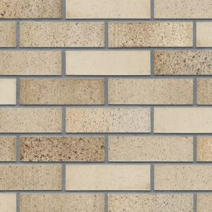 Riemchen Fassade Sandpfeffer