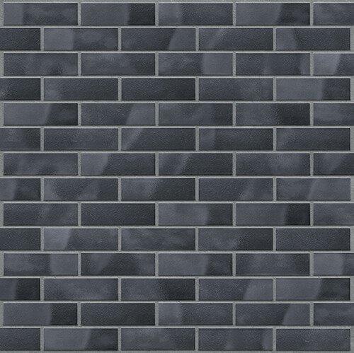 Fassadenriemchen schwarz