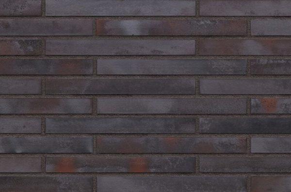 Fassadenklinker anthrazit Burgfelsen