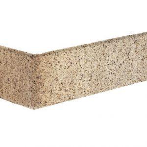 Sandpfeffer beige Winkel Riemchen