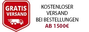 gratis Versand ab 1500 Euro