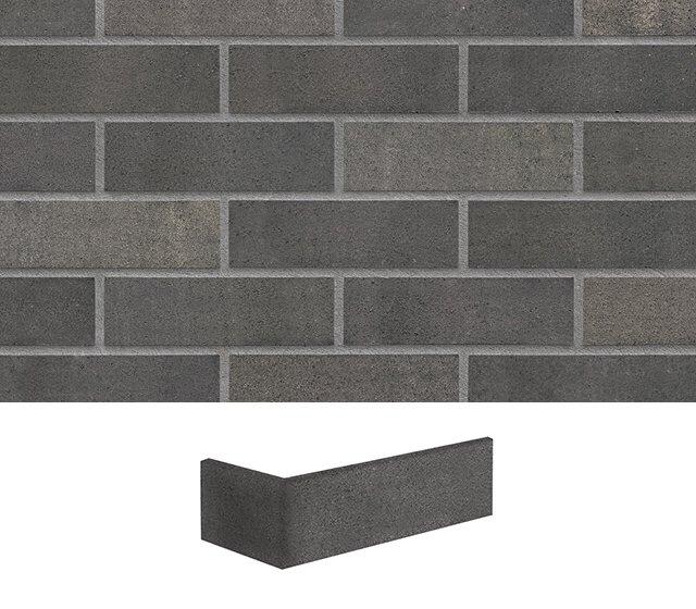 Klinker grau modern Meteor Fassade