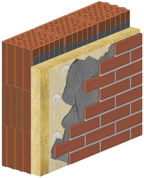 Fassadendämmung Mineralwolle